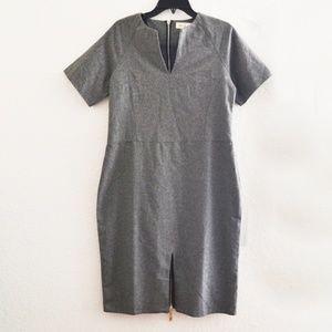 Dresses & Skirts - Gray Plus Size Office Sheath Dress Size XXL